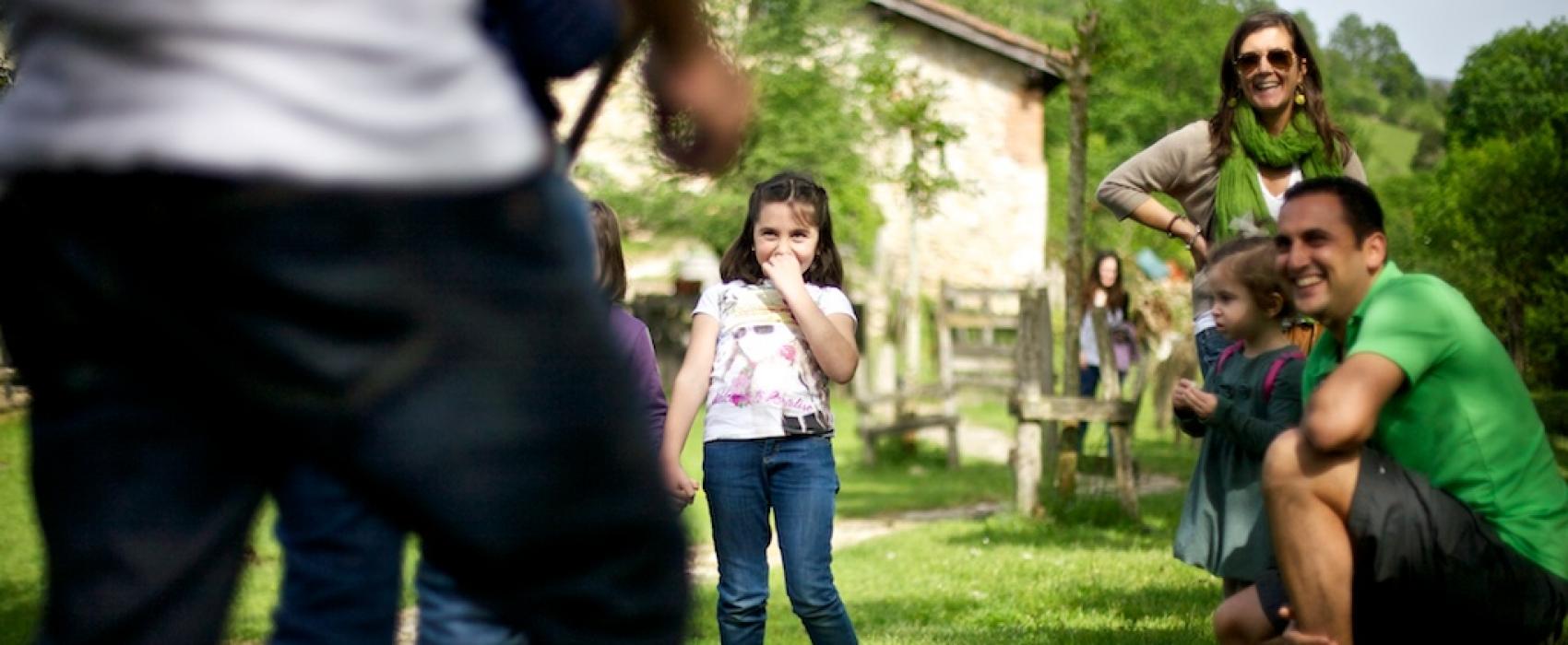 niños en la ruta de pepín